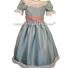 Rum Pink and French Blue Nutcracker Party Scene Dress