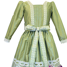 Sage Green and Lace Clara Nutcracker Party Scene Dress