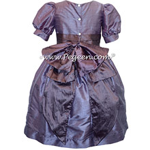 Euro Lilac and Iris flower girl dress used for Clara's Nutcracker Party Scene