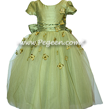 Flower Girl Dress Style 900 - Earth Fairy from the Fairytale  Collection in Sage Green