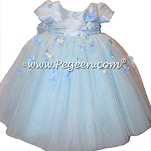 Flower Girl Dress Style 900 - Earth Fairy from the Fairytale  Collection in Steele Blue