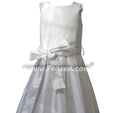 Antique White First Communion Dress Style 992 | Pegeen