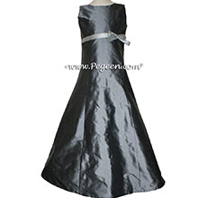 Medium Gray Jr Bridesmaids dress