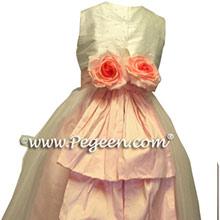 peony flower girl dresses