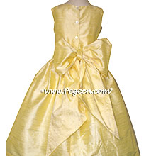 Baby Chick Silk Flower Girl Dresses style 318 by Pegeen