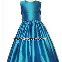 Jewel flower girl dresses