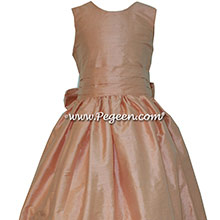 each silk Jr Bridesmaids Dress
