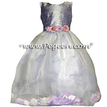 lilac petal FLOWER GIRL DRESSES