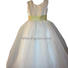 Sunflower Yellow Flower Girl Dresses
