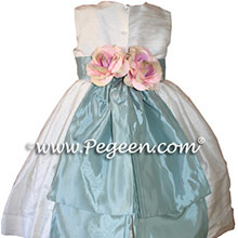 MATCHING CUSTOM JIM HJELM FLOWER GIRL DRESSES