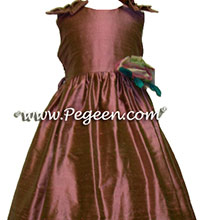 canyon pink Flower Girl Dresses