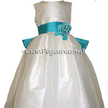 Tahiti Silk Flower Girl Dresses Style 359 from Pegeen