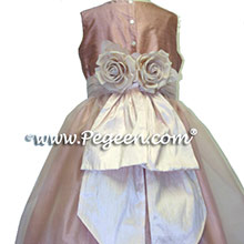 PINK ORGANZA Flower Girl Dresses