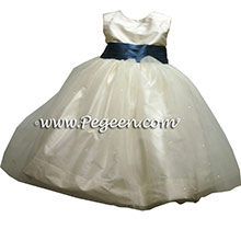 MATCHING ANN TAYLOR TULLE AND SPARKLE  flower girl dresses