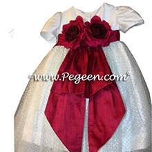 custom tulle flower girl dresses