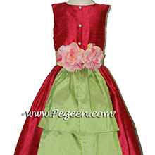 LIPSTICK AND SPRITE flower girl dresses