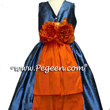 matching flower girl dress for ann taylor's pacific blue