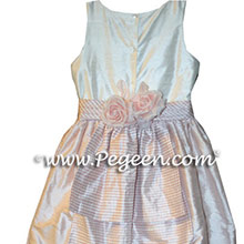 Custom plaid flower girl dresses