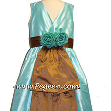 Pond and  Ginger flower girl dresses