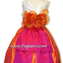 SORBET, MANGO AND NEW IVORY Flower Girl Dresses