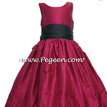 BEAUTY PINK JR BRIDESMAIDS DRESSES