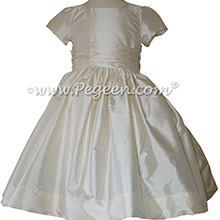 Bisque Flower Girl Dresses ~ Pegeen Classics Style 388