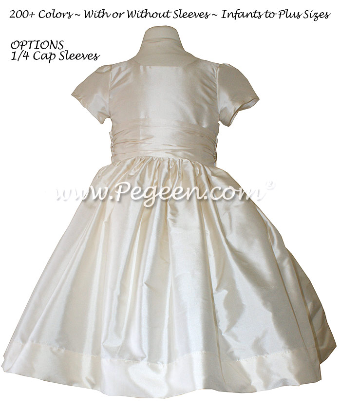 Bisque Flower Girl Dresses ~  Classics Style 388