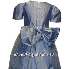 wisteria and blue flower girl dresses
