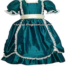 Baltic Sea SILK DRESS FOR Flower Girl Style 397