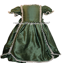 Basil SILK DRESS FOR Flower Girl Style 397