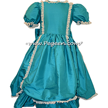 Oceanic SILK DRESS FOR Flower Girl Style 397