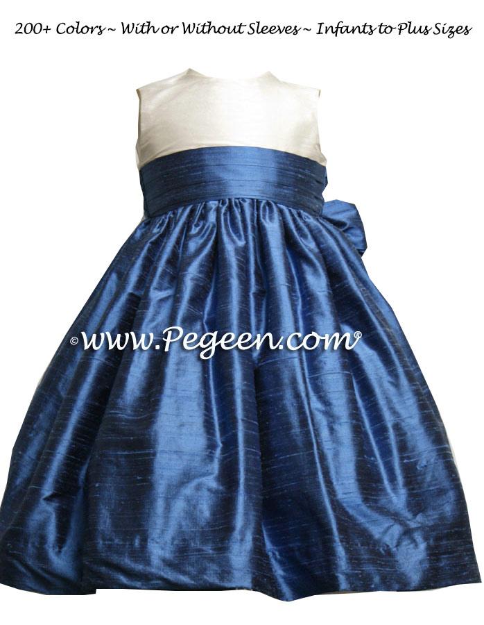 Flower Girl Dress Style 398 Matching Ann Taylor  | Pegeen