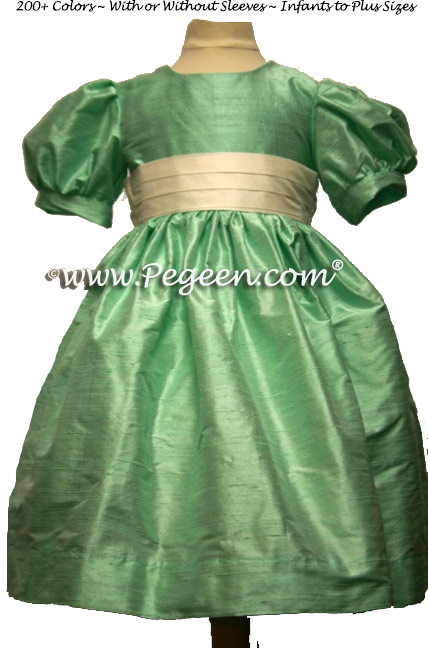 aqualineFLOWER GIRL DRESSES