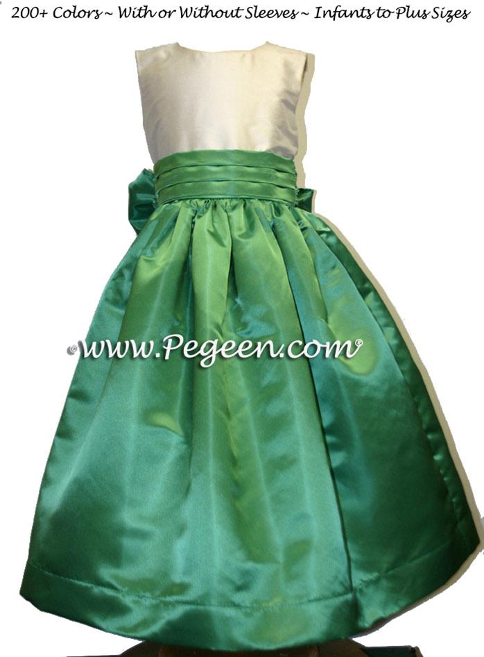 clover flower girl dresses