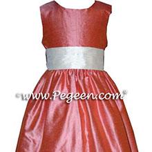 PINK JUNIOR BRIDESMAID DRESSES
