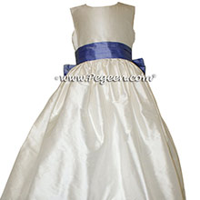 Antique White AND EURO PERI Flower Girl DRESS Style 398