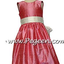 gumdrop pink junir bridesmaids dresses