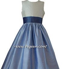 WISTERIA AND HYDRANGEA Flower Girl DRESS Style 398