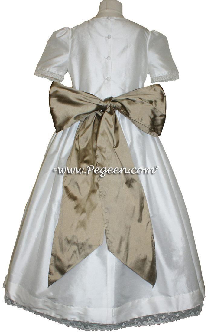 SAHARA CUSTOM FLOWER GIRL DRESSES