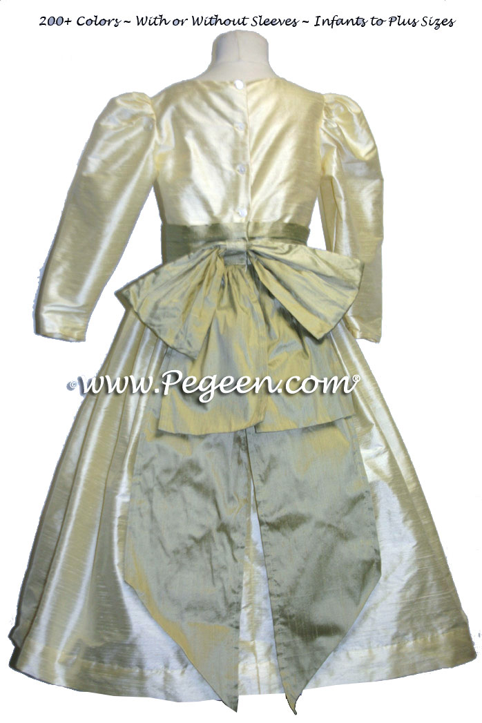 Nutcracker dresses - BABY CHICK YELLOW A Christmas Carol Performance