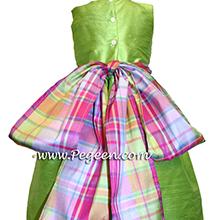 APPLE GREEN flower girl dresses