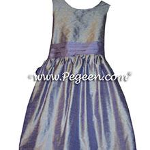 CUSTOM VICTORIAN LAVENDER FLOWER GIRL DRESSES