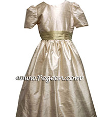 Toffee and summer tan Flower Girl Dresses