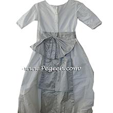 Bermuda tulle flower girl dresses