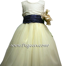 Eurol Lilac tulle flower girl dresses