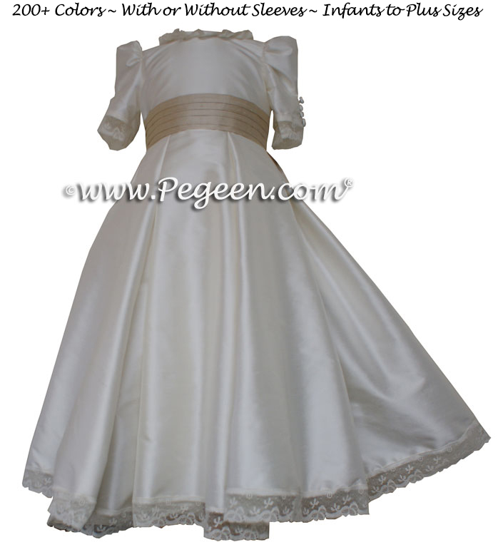 Princess Kate Style flower girl dress from The Regal Collection