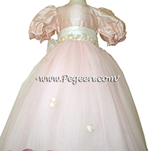 Ballet Pink Sugar Plum Fairy Tulle Flower Girl Dresses from the Nutcracker Party Dress Collection