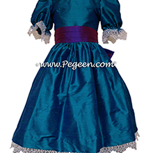 NUTCRACKER PARTY DRESS - NUTCRACKER SUITE CLARA DRESS IN PEACOCK
