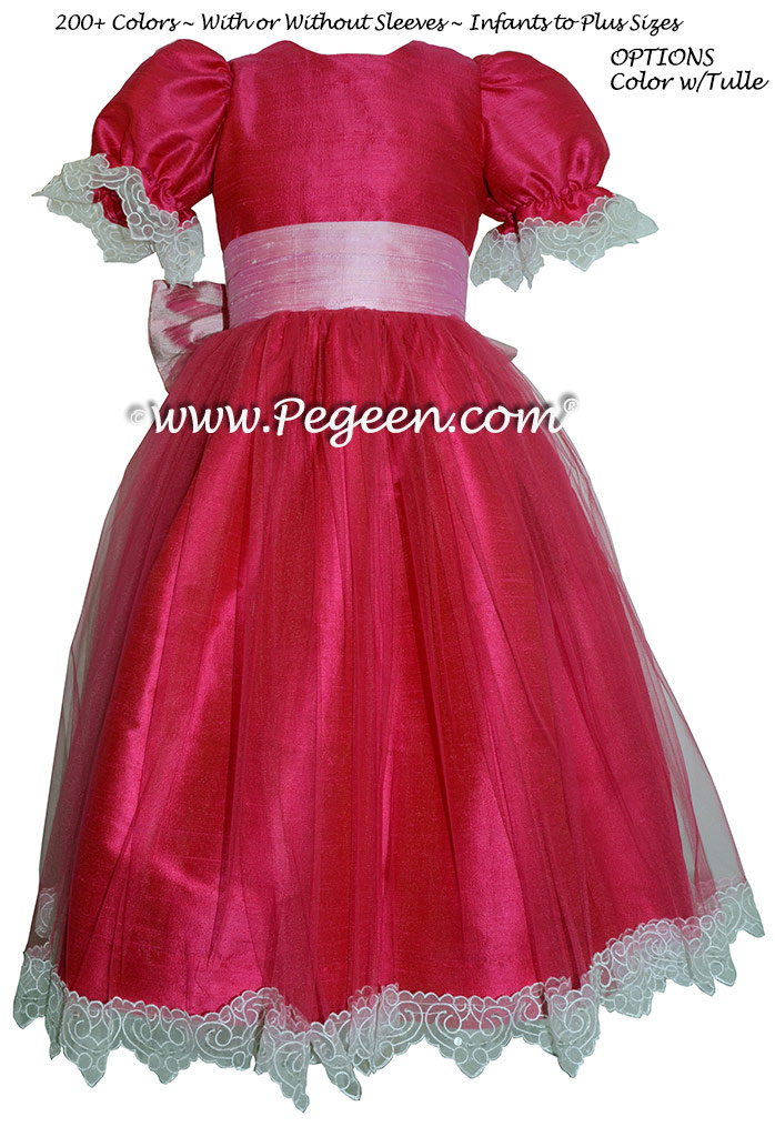 Raspberry And Rose Nutcracker Party Scene Dress Style 703