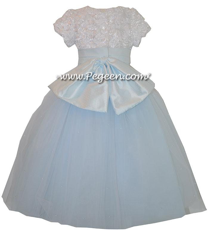 Baby Blue Tulle ballerina style Nutcracker Ballet Party Scene Dresses - Style 705